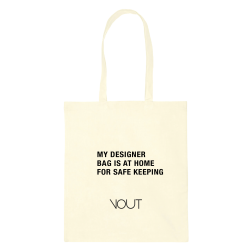 MY DESIGNER BAG IS AT HOME