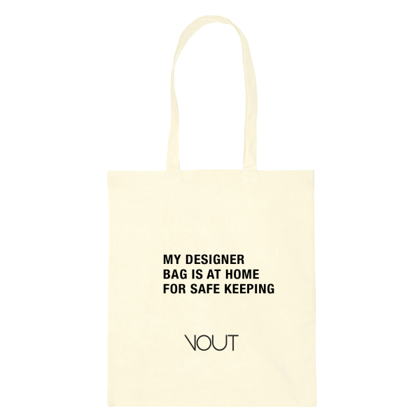 MY DESIGNER BAG IS AT HOME